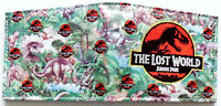 The Lost World Jurassic Park wallet purse id window card slots zip coin pocket