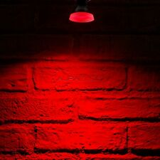 Auraglow LED Coloured GU10 Spotlight Light Bulb - RED