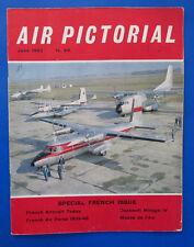 1963 Jun AIR PICTORIAL Magazine Vol 25 #6 VG C-160 Transall prototype
