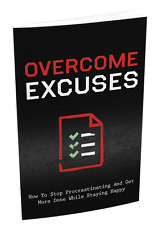 Discover How To Overcome Excuses and Beat Procrastination- eBook and Videos CD