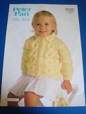Peter Pan Children's Jacket Knitting Pattern P535