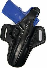 Premium Leather Thumb Break Belt Holster for ED BROWN/ STI/DAN WESSON 1911 5""