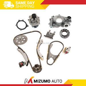 Timing Chain Kit Water Oil Pump Fit 07-11 Chevrolet GMC Hummer Isuzu 2.9L 3.7L