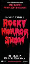 Musical Flyer: ROCKY HORROR SHOW - KÖLN 2017