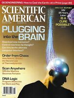 Scientific American Magazine Plugging into the Brain Scan Anywhere DNA Logic HIV