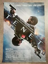 "TENET Original Movie Poster 27x40"" Italian NOLAN PATTINSON WASHINGTON CAINE"