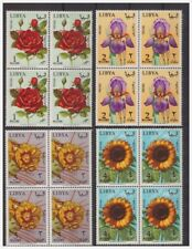 Libya independent 1965-Flowers Series Stamps NEW **