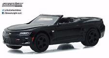 1:64 GreenLight *BLACK BANDIT R16* 2017 Chevrolet Camaro SS Convertible *NIP*