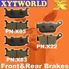 FRONT REAR Brake Pads YAMAHA XJ6-F Diversion 600 Full Fairing 2010-11 2012 2013