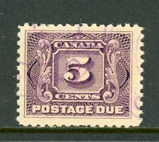 Canada Scott #J4 U Postage Due 1906-28 5c $$