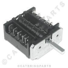 FAGOR X163007 ego Interruptor selector giratorio 250 V 16 A 2 posición Bain Marie Freidora