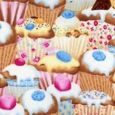 YUMMY CUPCAKES FABRIC