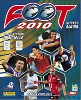 LIGUE 2 - STICKERS IMAGE PANINI - FOOT 2010 - 521 a 660 - a choisir