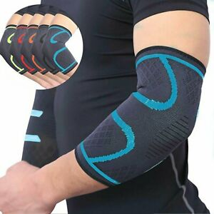 Elbow Brace Compression Support Sleeve Arthritis Tendonitis Reduce Joint Pain