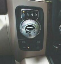 Punisher Grunge Dodge Ram 1500 REBEL Shifter Sticker Decal Graphic Shift Knob