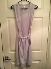 Lululemon Layer Up Dress NWT Sz 4 HSIS Heathered Silver Spoon Color