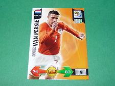VAN PERSIE  NEDERLAND PANINI FOOTBALL FIFA WORLD CUP 2010 CARD ADRENALYN XL