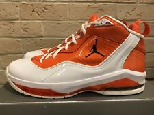 buy online 7788e a525e Nike Air JORDAN MELO M8 White Orange Sz 10.5 viii