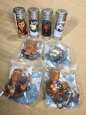 RARE HARD TO FIND STAR WARS COLLECTIBLE LOT BURGER KING TOYS WATCHES SEALED NIB
