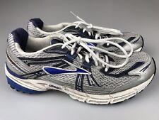 Brooks Adrenaline GTS 11th Ed. Trainer Running Shoes Men's 12 Medium Silver Blue