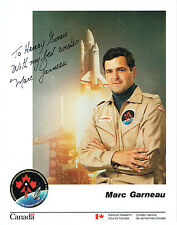 Marc GARNEAU Signed Autograph Photo COA AFTAL First Canadian in Space Astronaut