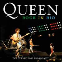 ROCK IN RIO  by QUEEN  Compact Disc  GRNCD032 Rare live shows