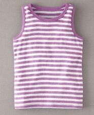 GIRLS MINI BODEN VEST SLEEVELESS TANK TOP TSHIRT 18-24 2 3 4 5 6 7 8 9 10 11 12
