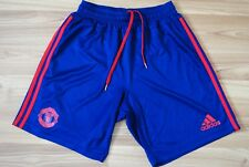 ADIDAS ADIZERO 2015 MEN'S MANCHESTER UNITED TRAINING SHORTS PANT AI9562 SMALL