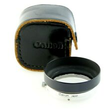 Genuine CANON S-50 Metal Lenshood for 50mm 1.4 LEICA L-Mount,Clamp-on, case