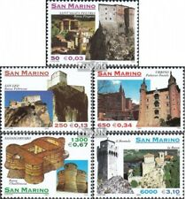 San Marino 1850-1854 (compleet Kwestie) MNH 1999 Forten