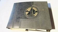 VINTAGE WW II ERA SCRAPBOOK ST MARY'S CROWN POINT INDIANA ACQUINAS CLUB HISTORY
