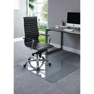 Lorell 82833 Chair Mat Tempered Glass - Clear