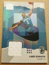 2018-19 Panini Legendary Status - Larry Johnson - Charlotte Hornets-Jersey Patch