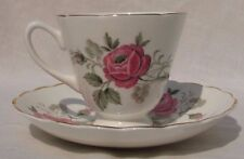 Vintage Crownford Bone China Cup and Saucer - England