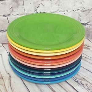 """Pick Your Color Fiestaware 10 1/2"""" Dinner Plate HLC Fiesta Sold Individually"""