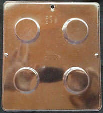 Plain Cookie Oreo Mold Chocolare Plastic Candy Soap Mold CML 1601