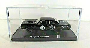 M2  Machines Black  1969 Plymouth Road Runner Hemi   2020