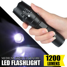 Hot!!! Super Bright Tactical Military T6 LED Flashlight Torch Zoomable 5-Mode