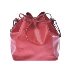 LOUIS VUITTON Epi Petit Noe Red Red M44107 Bag 800000084401000