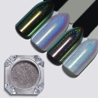 Chameleon Holographic Nail Art Glitter Powder  Chrome Pigment UR SUGAR