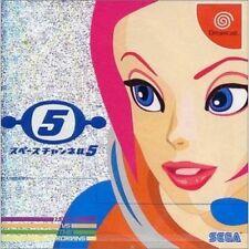 USED SPACE CHANNEL 5  SEGA DREAMCAST  JAPAN JP JAPANESE