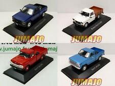 Bundle 4 1/43 Salvat Pick-Up: Ford F100,Chevrolet Silverado,Ranquel