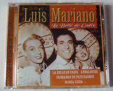 LUIS MARIANO (CD)  LA BELLE DE CADIX   COMPILATION 20 TITRES