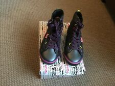 PASTRY LADIES CANDY RUSH BLACK LIGHTINING ANKLE BOOTS SIZE 4.5