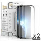 For iPhone 12 Pro Max (2 x PACK)Tempered Glass Alignment Frame Screen Protector