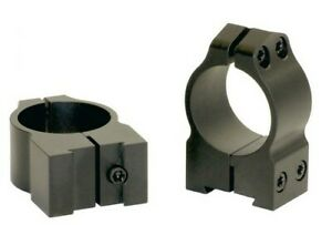 Warne Maxima Scope Rings for CZ 527 1 Inch High 2B1M