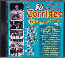Cornelio Reyna, Dueto Estrella, Kiko Montalvo, 50 Anos De Historia Vol 3  CD