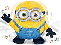 SING AND DANCE Bob Minion tanzt musiziert ICH EINFACH UNVERBESSERLICH