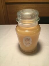 Yankee Candle Tropical Vanilla RETIRED RARE Almost EXTINCT GLASS JAR Candle 12.3