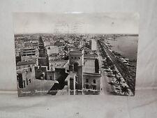 Vecchia cartolina foto d epoca di Taranto panorama Città Nuova Rione Italia